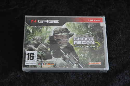 Nokia N gage Tom clancy's gohst recon jungle storm new in seal