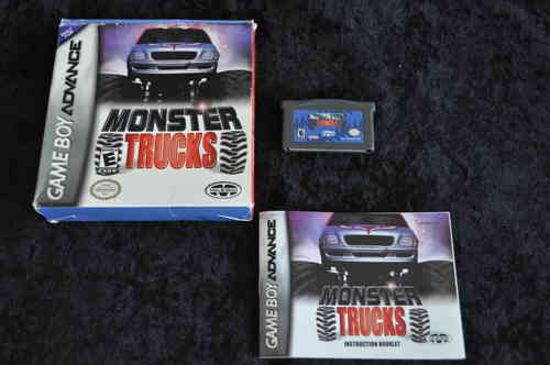Gameboy Advance  Monster trucks Boxed