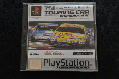 Toca touring car championship Playstation 1 PS1 Platinum