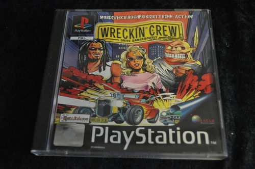 Wreckin Crew Playstation 1 PS1