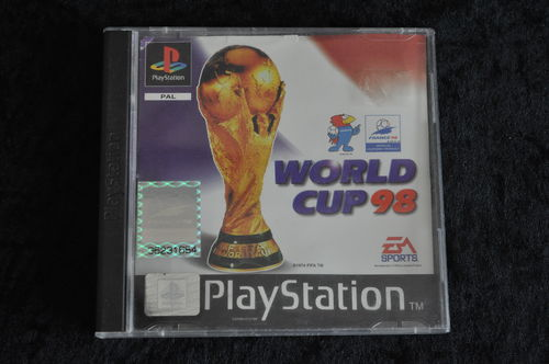 Playstation 1 World cup 98