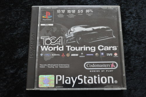 Toca world touring cars Playstation 1 PS1