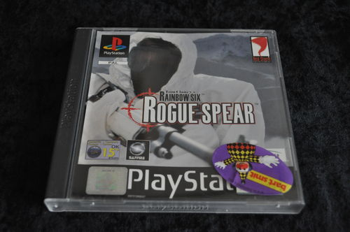 Playstation1 Tom clancy's rainbow six rogue spear