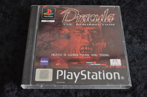Dracula the resurrection Playstation 1 PS1