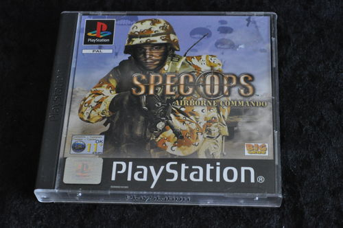 Spec Ops Airborne Commando Playstation 1 PS1