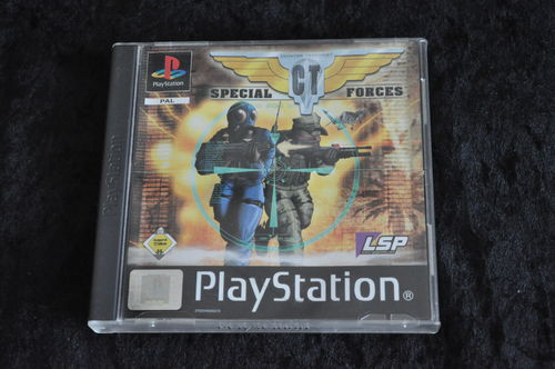 CT special forces Playstation 1 PS1