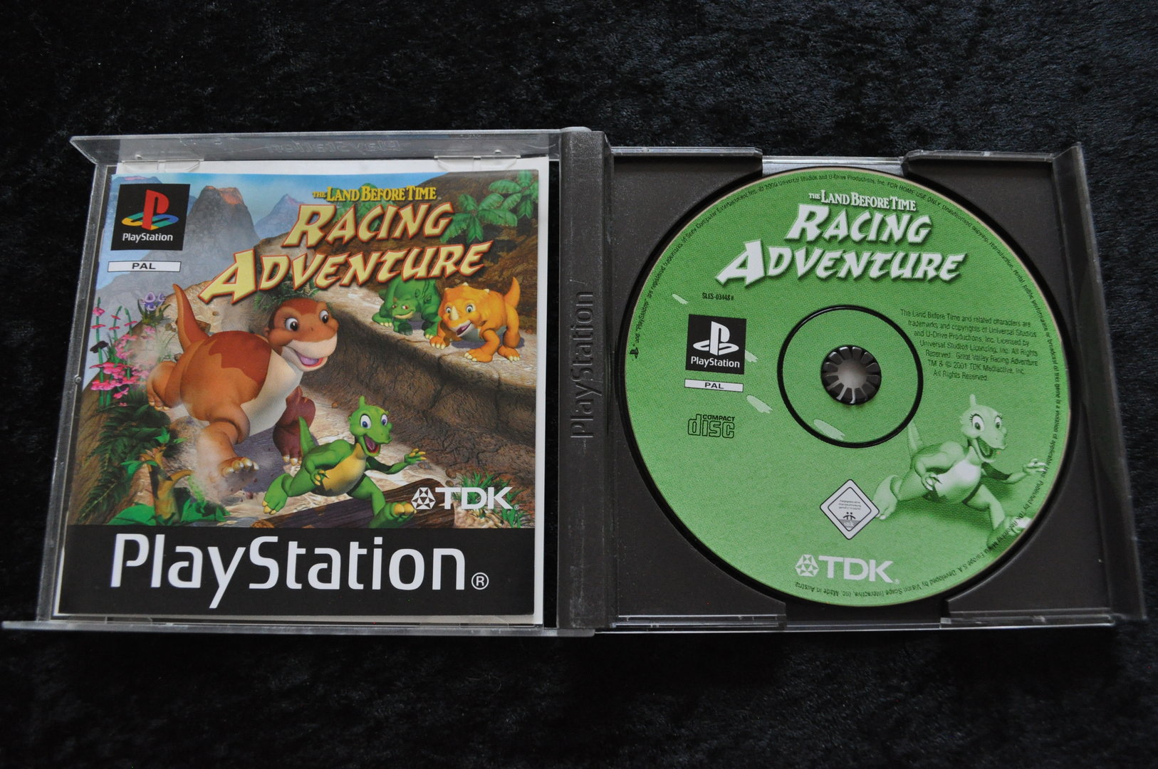 the land before time racing adventure playstation 1 ps1