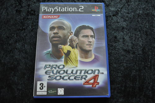Pro Evolution Soccer 4 Playstation 2 PS2