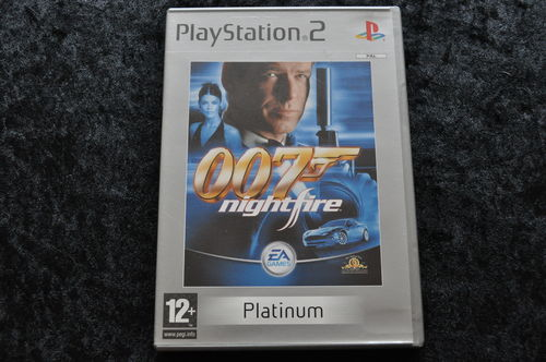 James Bond 007 Nightfire Playstation 2 PS2 Platinum