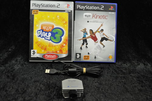 Playstation 2 Eyetoy Play Pakket 2 Games En Eyetoy Camera