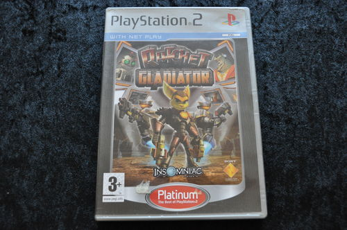 Ratchet Gladiator Platinum Playstation 2 PS2