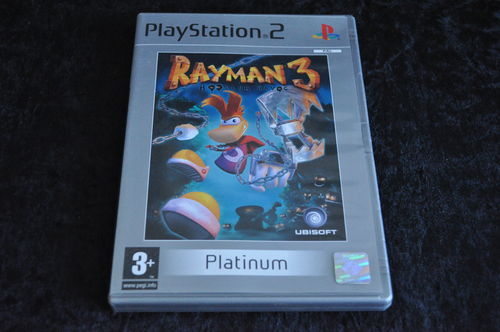 Rayman 3 Hoodlum Havoc Playstation 2 PS2 Platinum