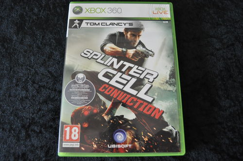 XBOX 360 Tom clancy's splintercell conviction