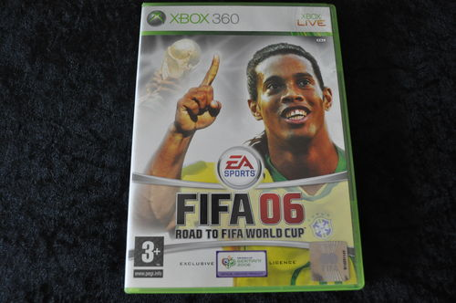 XBOX 360 Fifa 06 road to fifa world cup