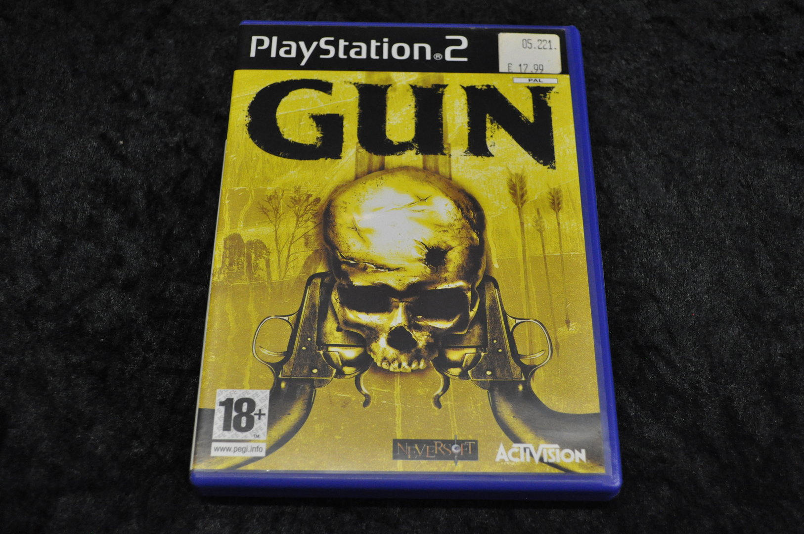 Gun Playstation 2 PS2
