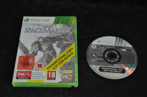 XBOX 360 Space marine store game