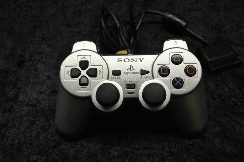 Sony Playstation 2 Ps2 Sony Dual Shock 2 Controller - Zilver