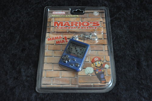 Game and Watch Mini Classic Mario's Cement Factory Sealed