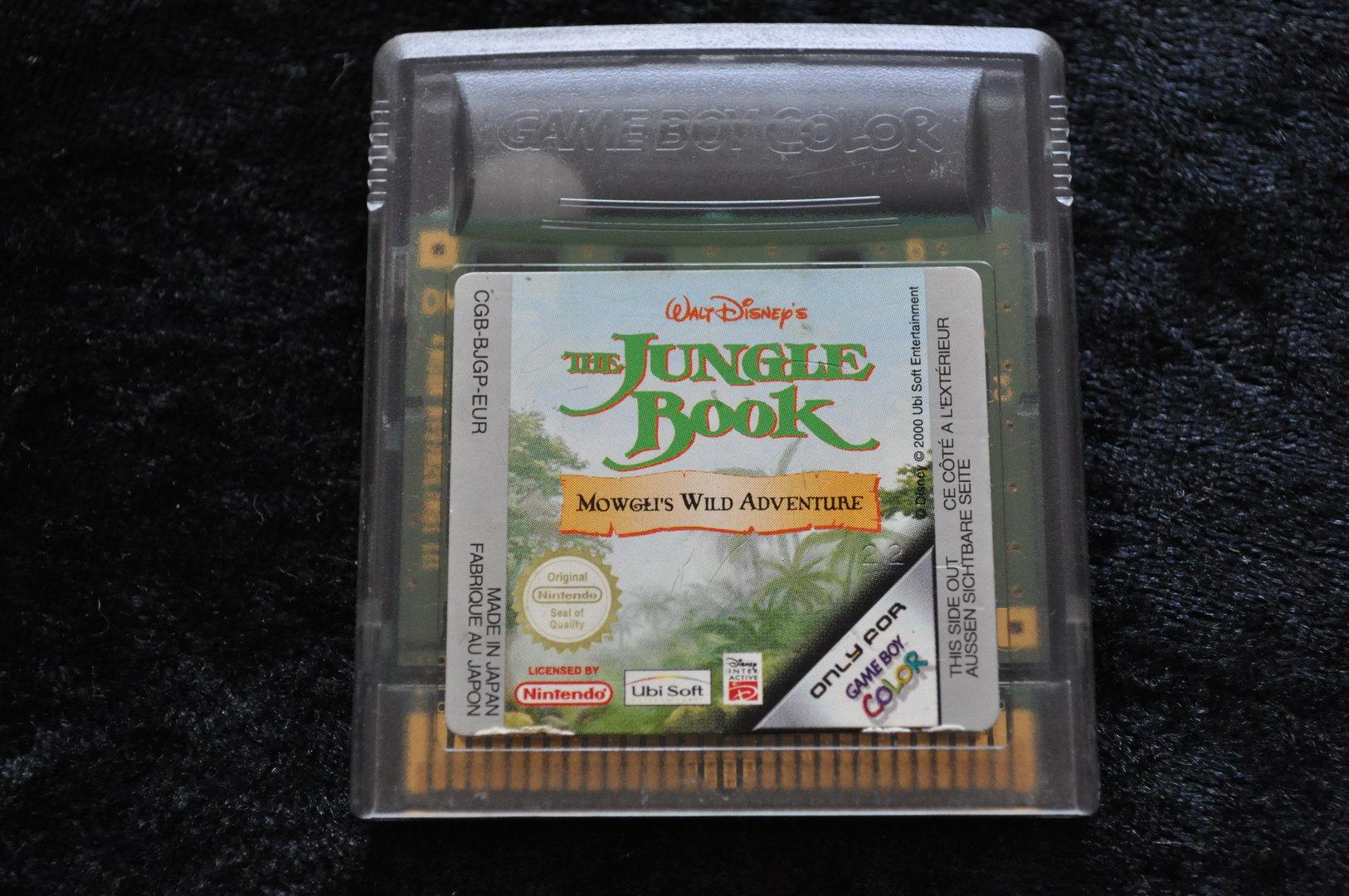 Gameboy color jungle book - Walt Disneys Jungle Book Gameboy Color