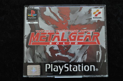 Metal Gear Solid 1 Playstation 1 PS1