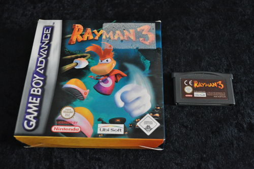 Gameboy Advance Rayman 3 Boxed Geen Manual