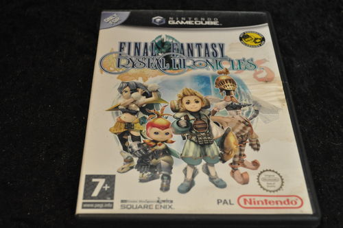 Gamecube Game Final Fantasy Crystal Chronicles ( Geen Manual )