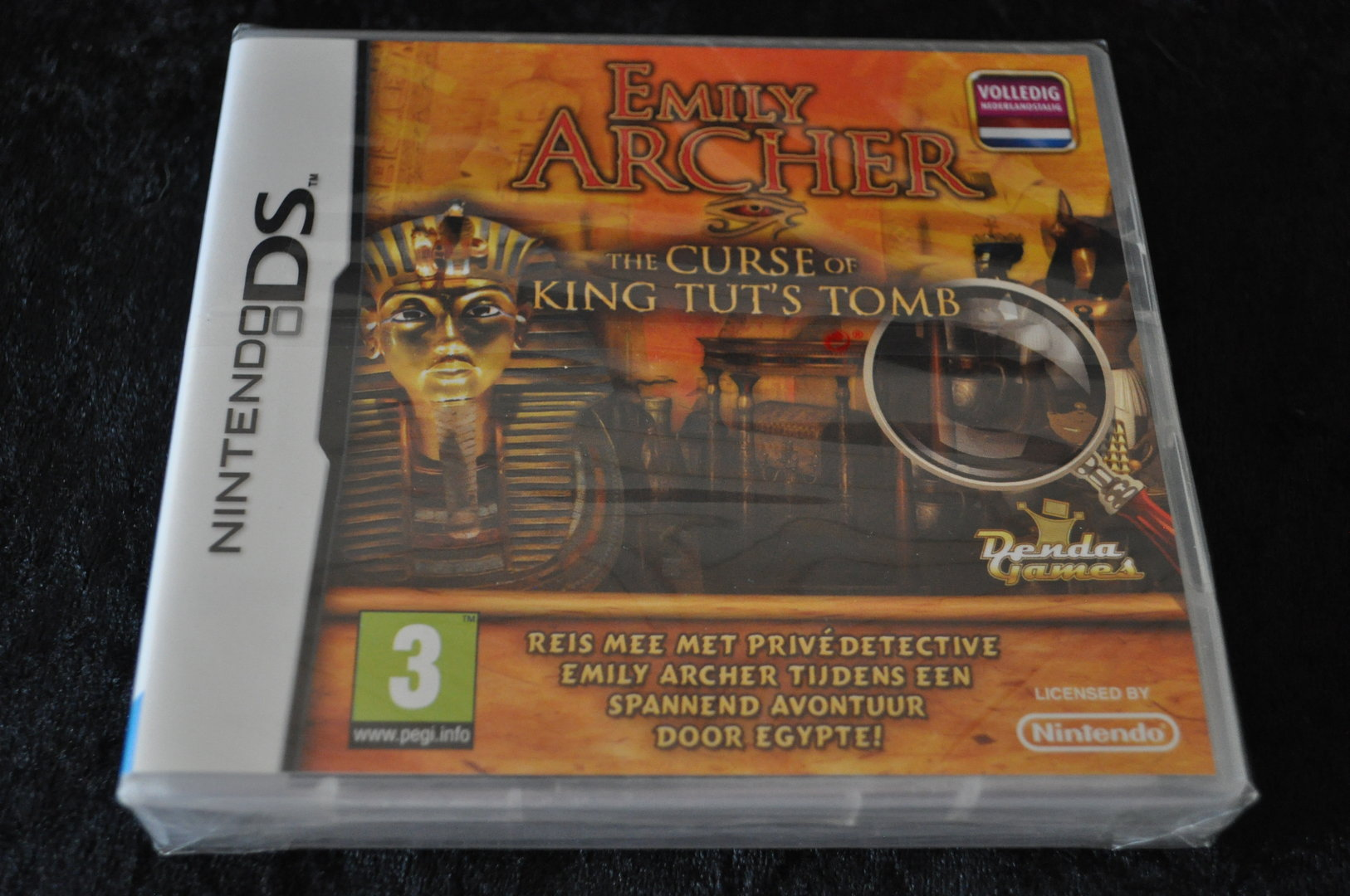Nintendo DS Emily Archer The Curse Of King Tut's Tomb