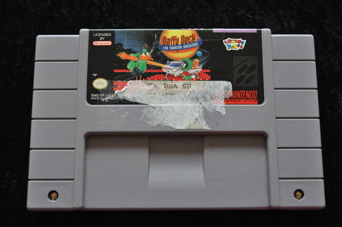 Daffy Duck The Marvin Missions NTSC SNES Game