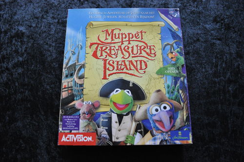 Muppet Treasure Island Big Box PC Game