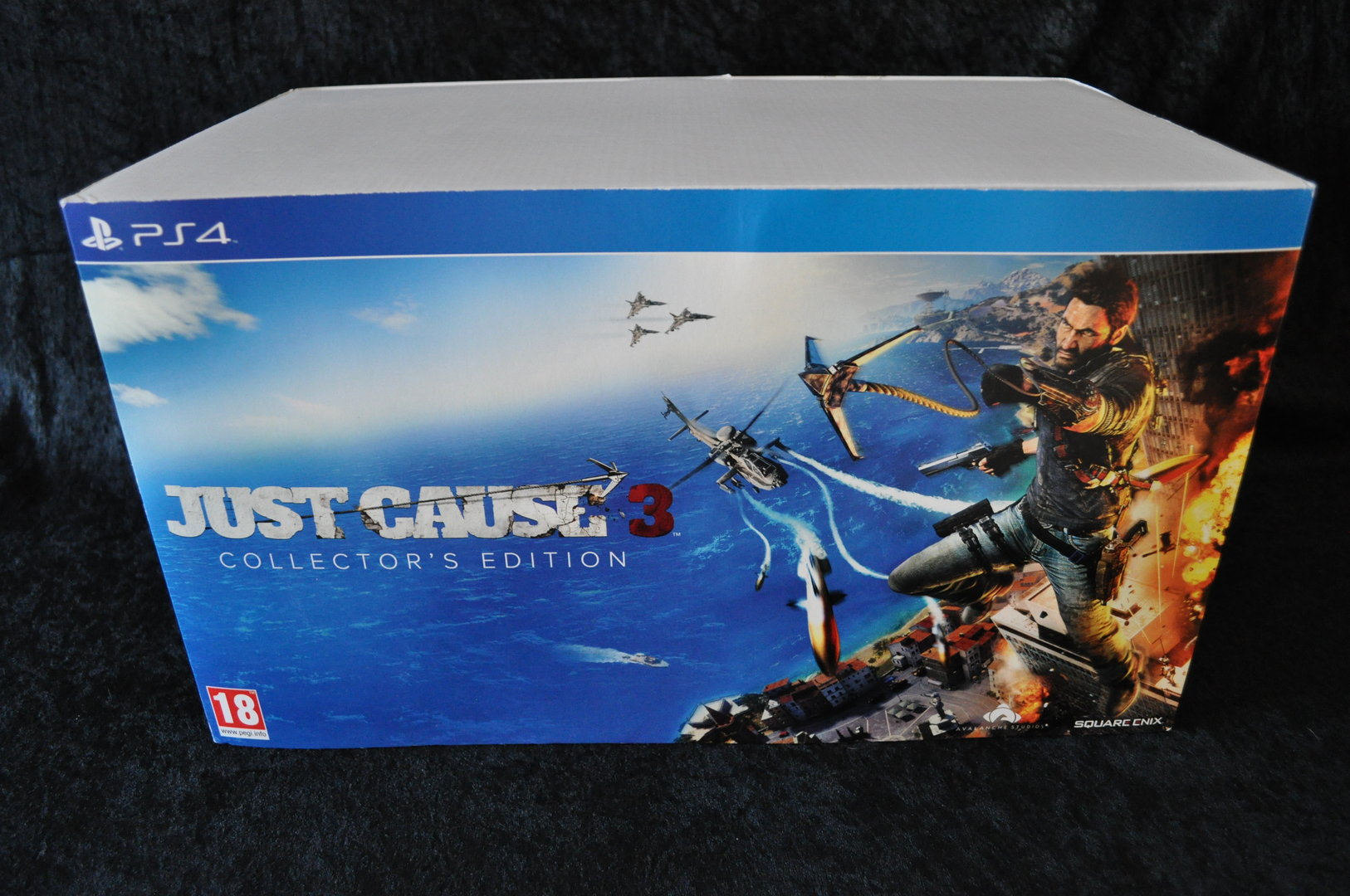 Just Cause 3 Collectors Edition New Playstation 4 Ps4 Sony Gold