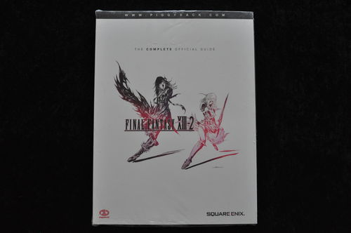 Final Fantasy XIII-2  The Complete Official Guide New In Seal