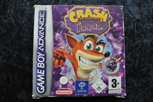 Crash Bandicoot Fusion Boxed Gameboy Advance