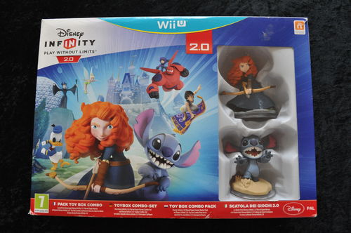 Disney Infinity 2.0 Toy Box Combo Pack Marvel Super Heroes WII U