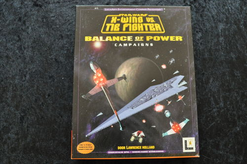Star Wars X Wing vs Tie Fighter Balance Of Power Campaigns Big Box Pc Game