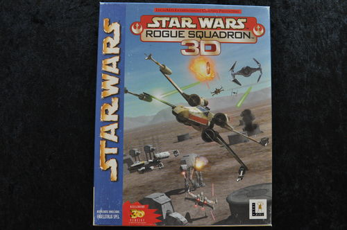Star Wars Roque Squadron 3D Big Box Pc Game