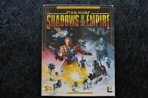 Star Wars Shadows Of The Empire Big Box Pc Game
