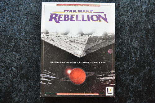 Star Wars Rebbellion Big Box Pc Game
