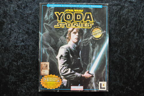 Star Wars Yoda Stories Big Box Pc Game