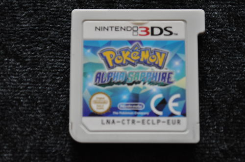 Pokemon Alpha Sapphire Nintendo 3DS Card Only