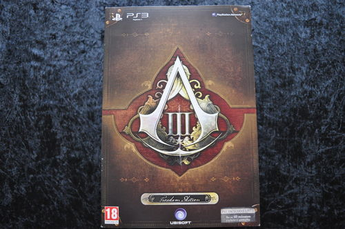 Assassins Creed III Freedom Edition incl. Steelcase Playstation 3 PS3