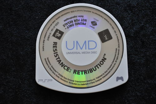 Resistance Retribution Promo Sony PSP