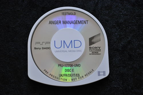 Anger Management UMD TESTMOLD Sony PSP