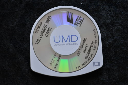 The Longest Yard 2005 UMD TESTMOLD Sony PSP