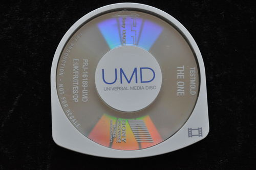The One UMD TESTMOLD Sony PSP