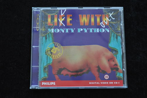 Live without monty python Philips CD-I