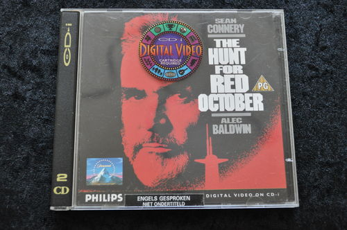 The Hunt For Red October CD-I Video cd