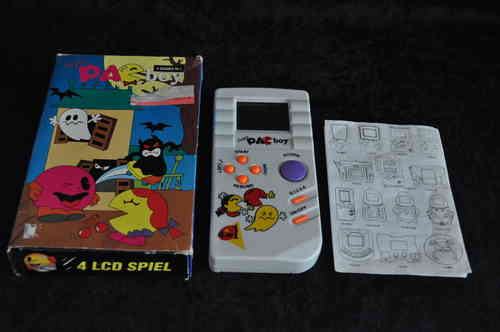 Handheld Super pacboy boxed