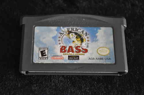 Gameboy Advance American bass challenge