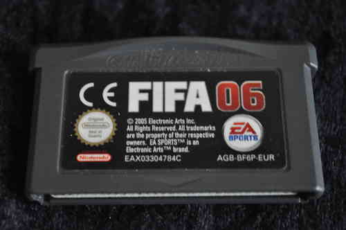 Gameboy Advance Fifa 06