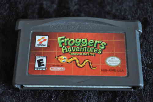 Gameboy Advance Froggers adventures